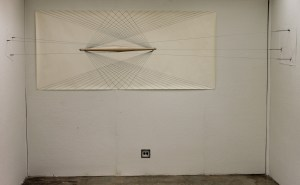 Resistance, Wood, Metal, Cable, Sharpy on Paper, 2012